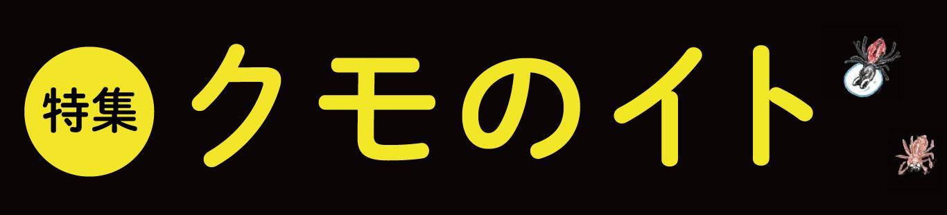 『クモのイト』本日発刊です!! 中田先生コメント&クモマンガ